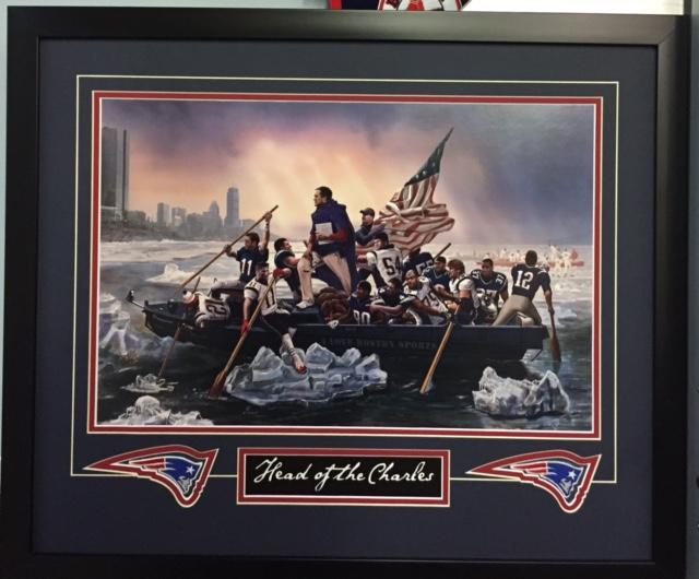 custom-framing-patriots-head-of-the-charles - Sportsworld Largest ...