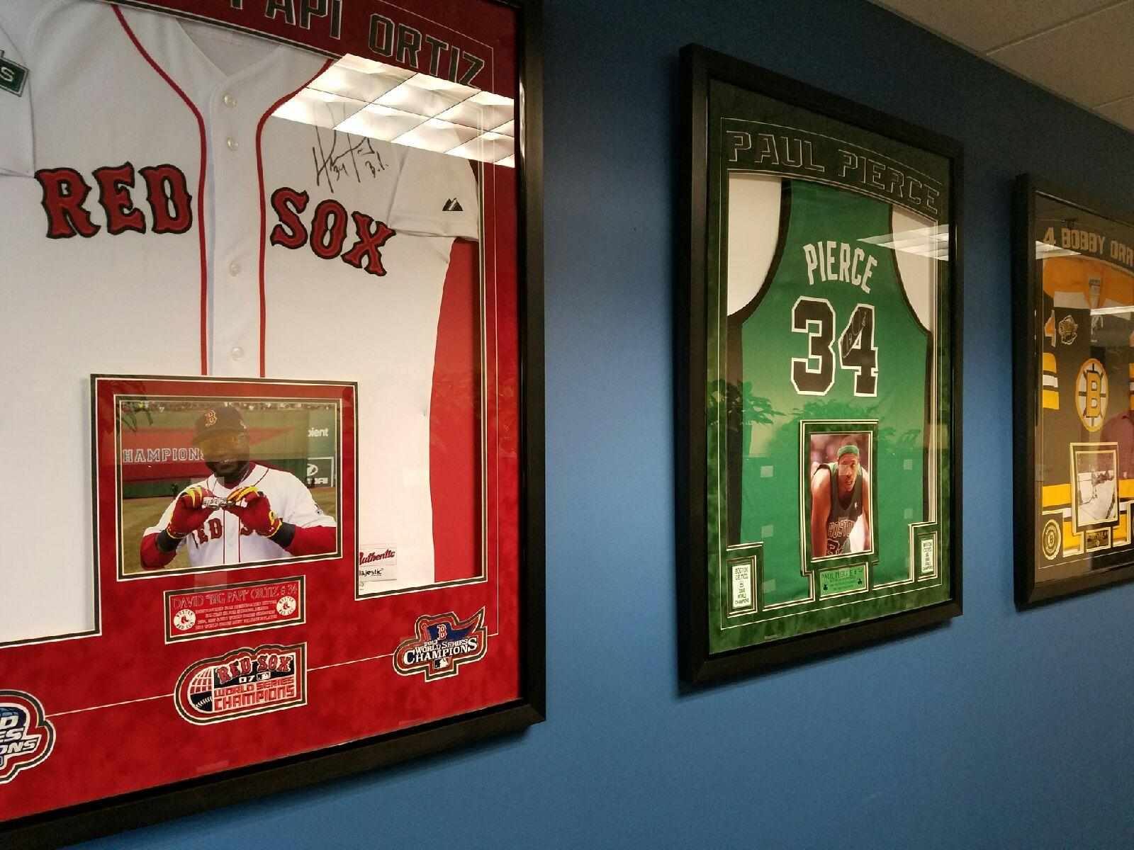 Office Decor Sports Memorabilia 002 ...