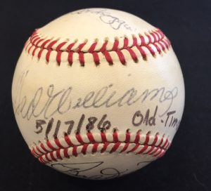 ted-williams-old-timer-ball-001