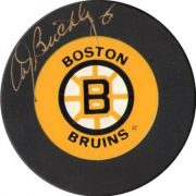 brickley boston bruins puck