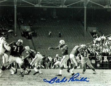 Babe-Parilli-Fenway-Park-Autographed-Boston-Patriots-8x10-Photo
