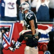Christian Fauria Autographed 8x10 Patriots Photo