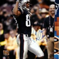 David Givens Autographed Patriots 8x10 Photo