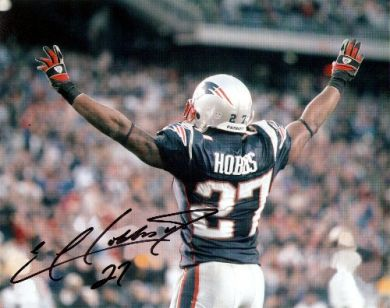 Ellis Hobbs New England Patriots Autographed 8x10 Photo