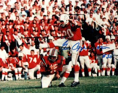 Gino Cappelletti Autographed Patriots 8x10 Photo