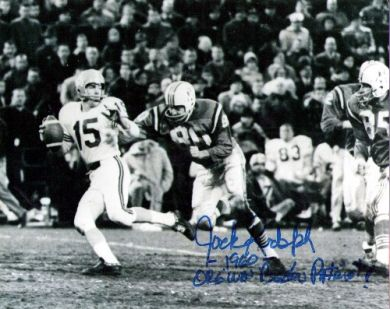 Jack Rudolph Autographed Patriots 8x10 Photo
