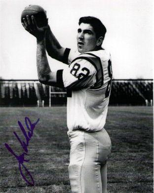 Jim Whalen Autographed Boston Patriots 8x10 Photo
