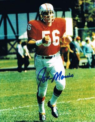 Jon Morris Autographed 8x10 Photo New England Patriots