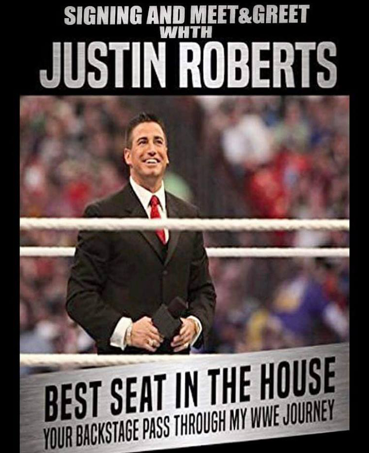 Justin Robert WWE best Seat in the House Book