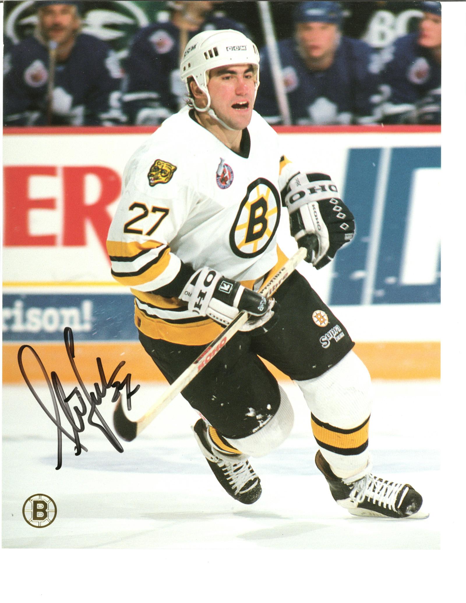 Steve Leach Autographed 8x10