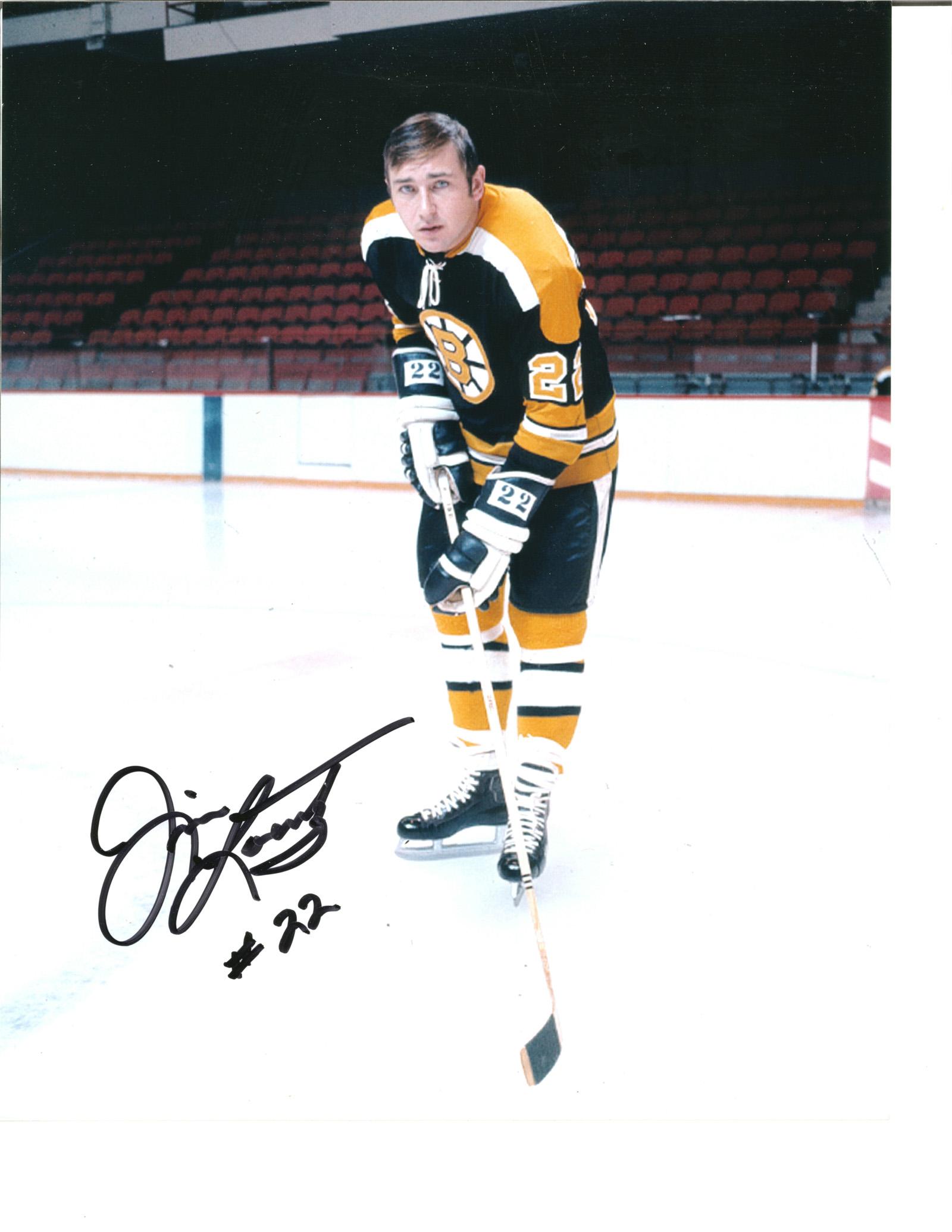 Jim Lorentz Autograph 8x10