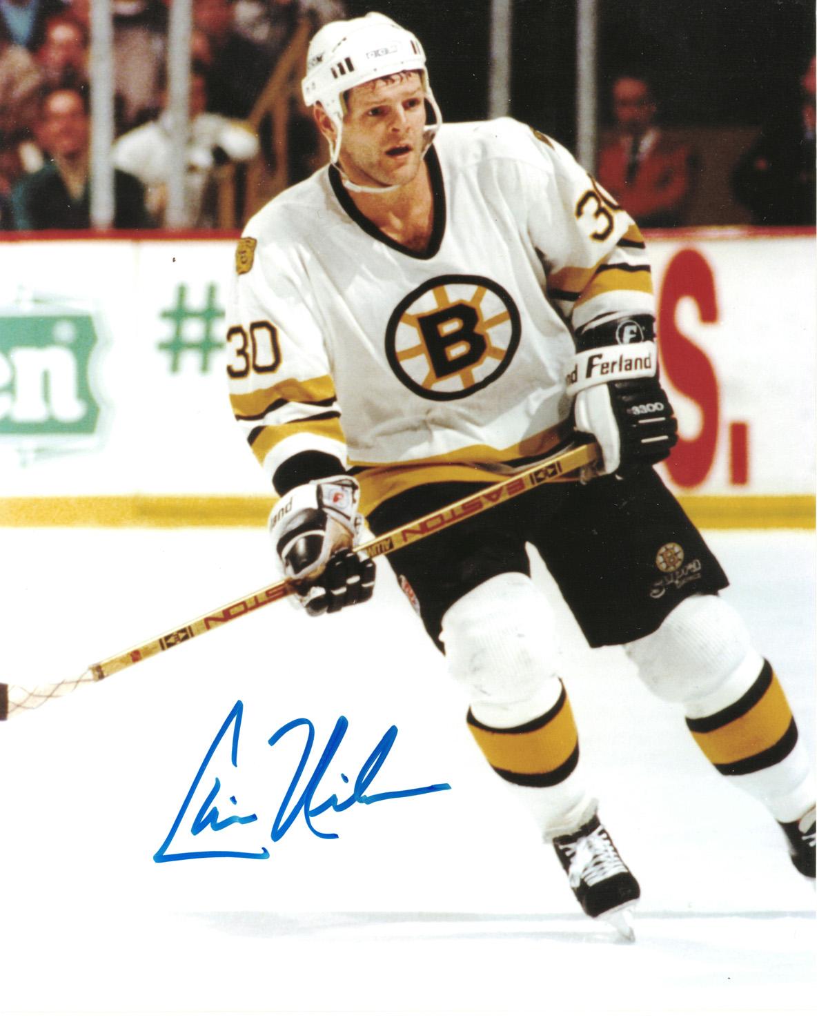 Chris Nilan autographed 8x10