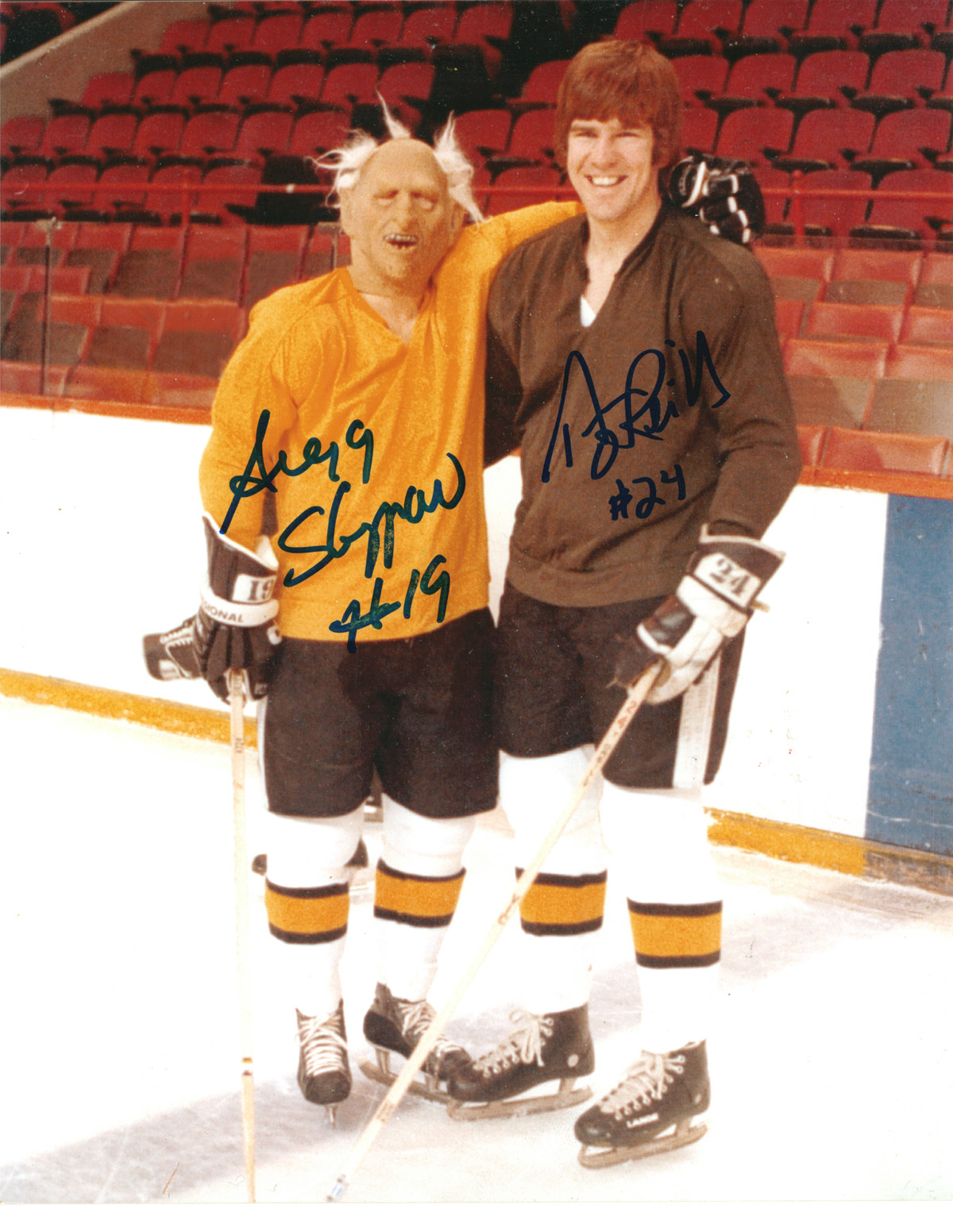 Gregg Sheppard & Terry O'Reilly autographed 8x10