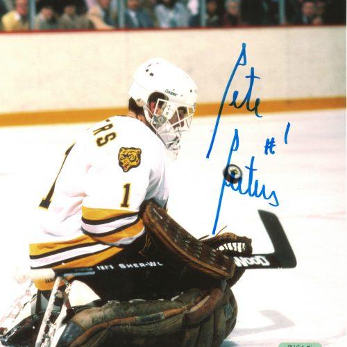Pete Peeters Autographed 8x10