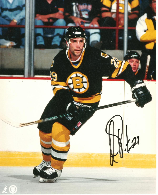 Marc Potvin autographed 8x10