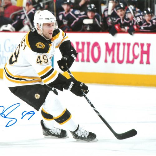 Rich Peverley autographed 8x10
