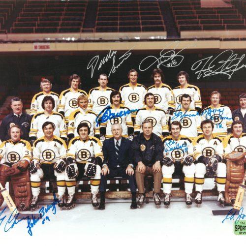 1972 Bruins autographed 8x10