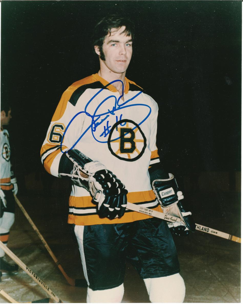 Derek Sanderson autographed 8x10