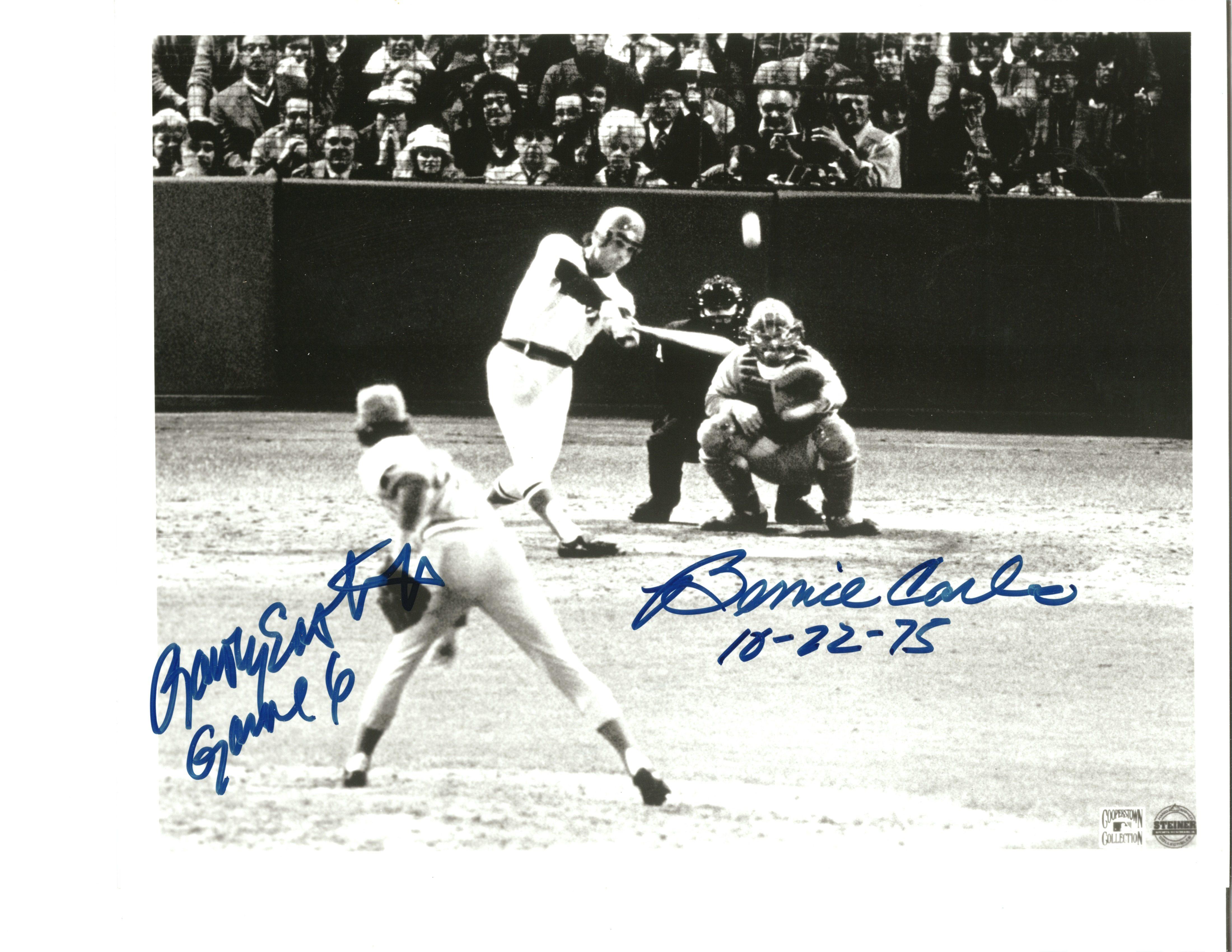 3b8e1e2a6e7e0 Bernie Carbo   Rawly Eastwick Autographed 8x10 photo - Sportsworld ...