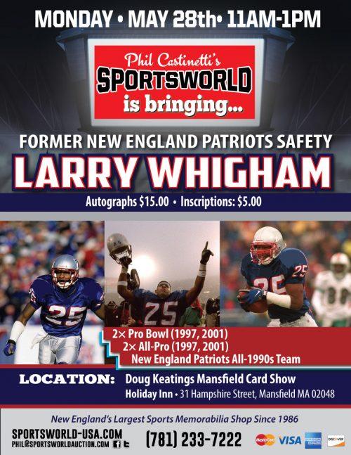 LarryWhigham-autograph-show