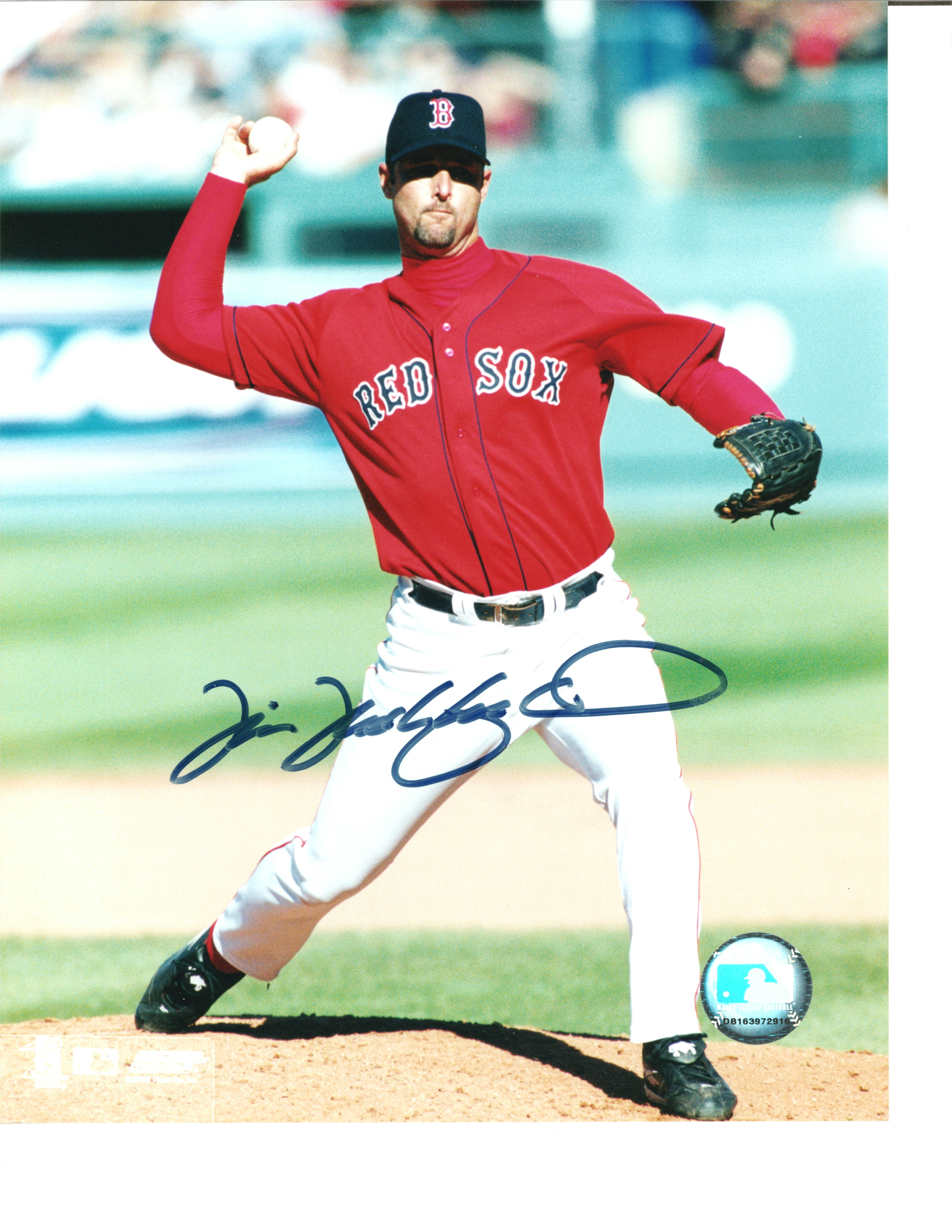 Tim Wakefield Autographed 8x10 Photo