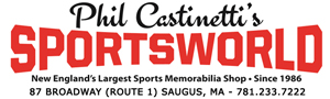 Sportsworld Largest Memorabilia Shop in New England