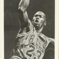 Michael Jordan Signed Lithograph