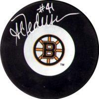 Allen Pedersen Boston Bruins Puck