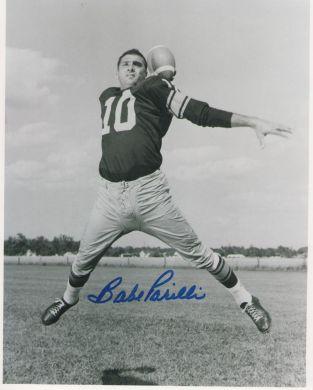 Babe Parilli Autographed Photo