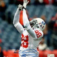 Darius Butler Autographed 8x10 Photo New England Patriots