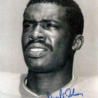 Daryl Johnson Autographed Boston Patriots 8x10 Photo