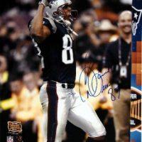 David Givens Autographed Patriots 8x10 Photo