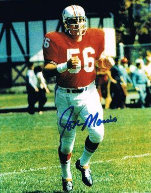 Jon Morris Autographed 8x10 Photo New England Patriots