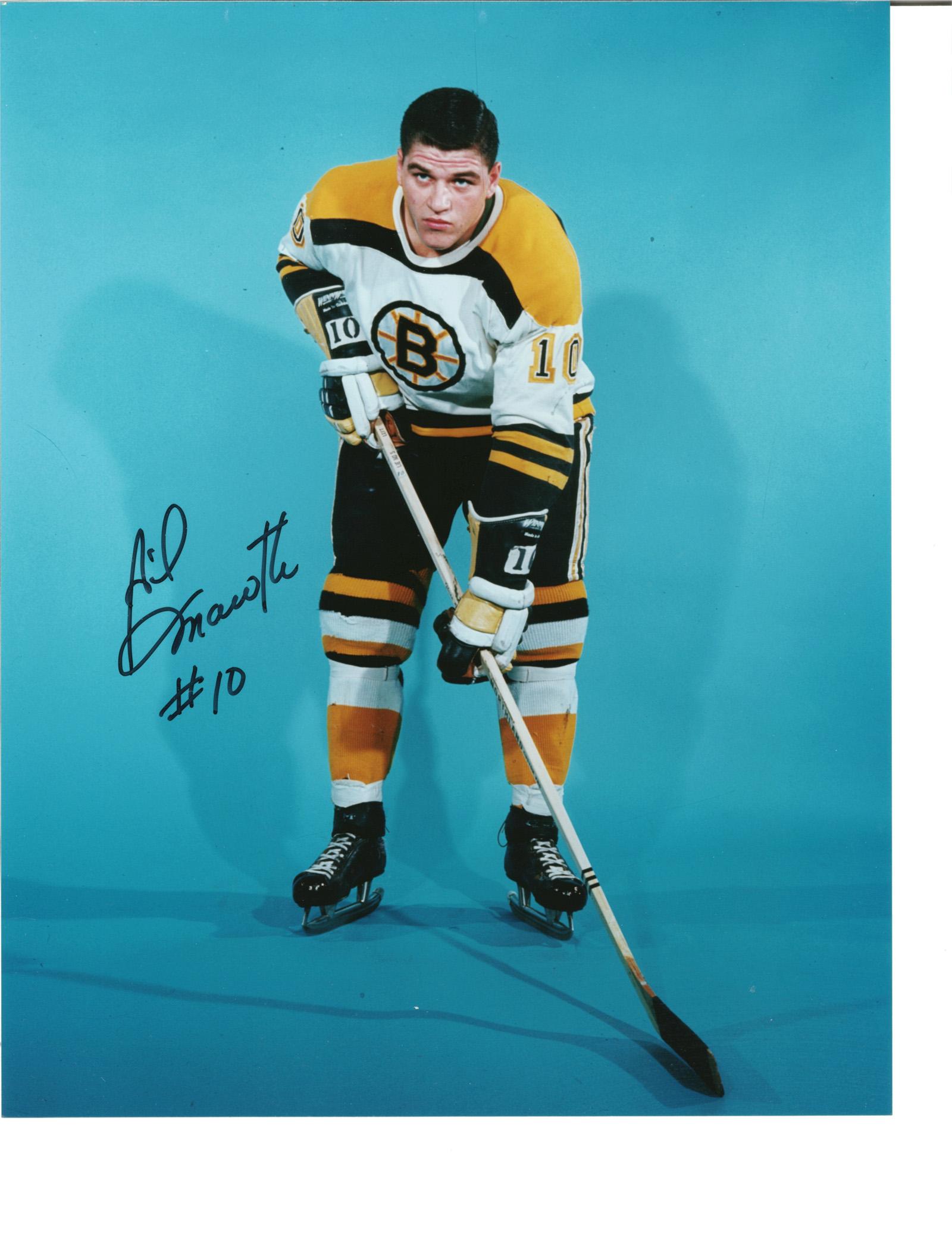 Gilles Marotte Autographed 8x10