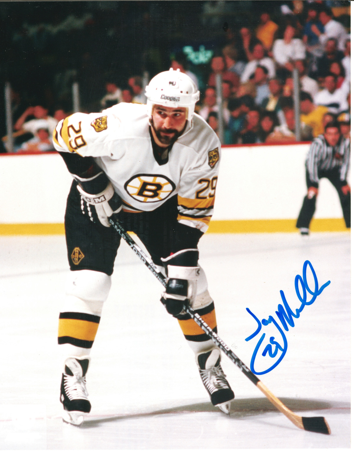 jay Miller autographed 8x10