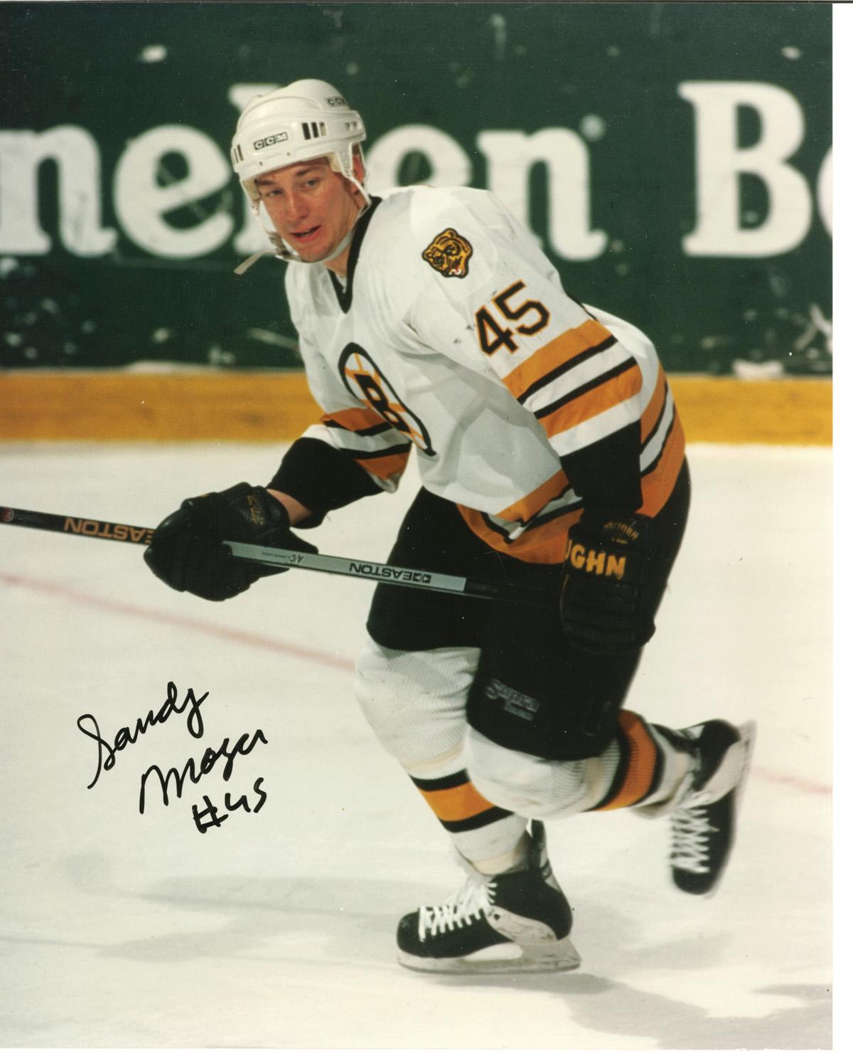 Sandy Moger autographed 8x10