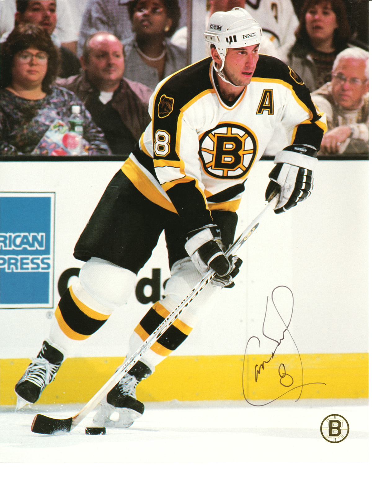 Cam Neely autographed 8x10