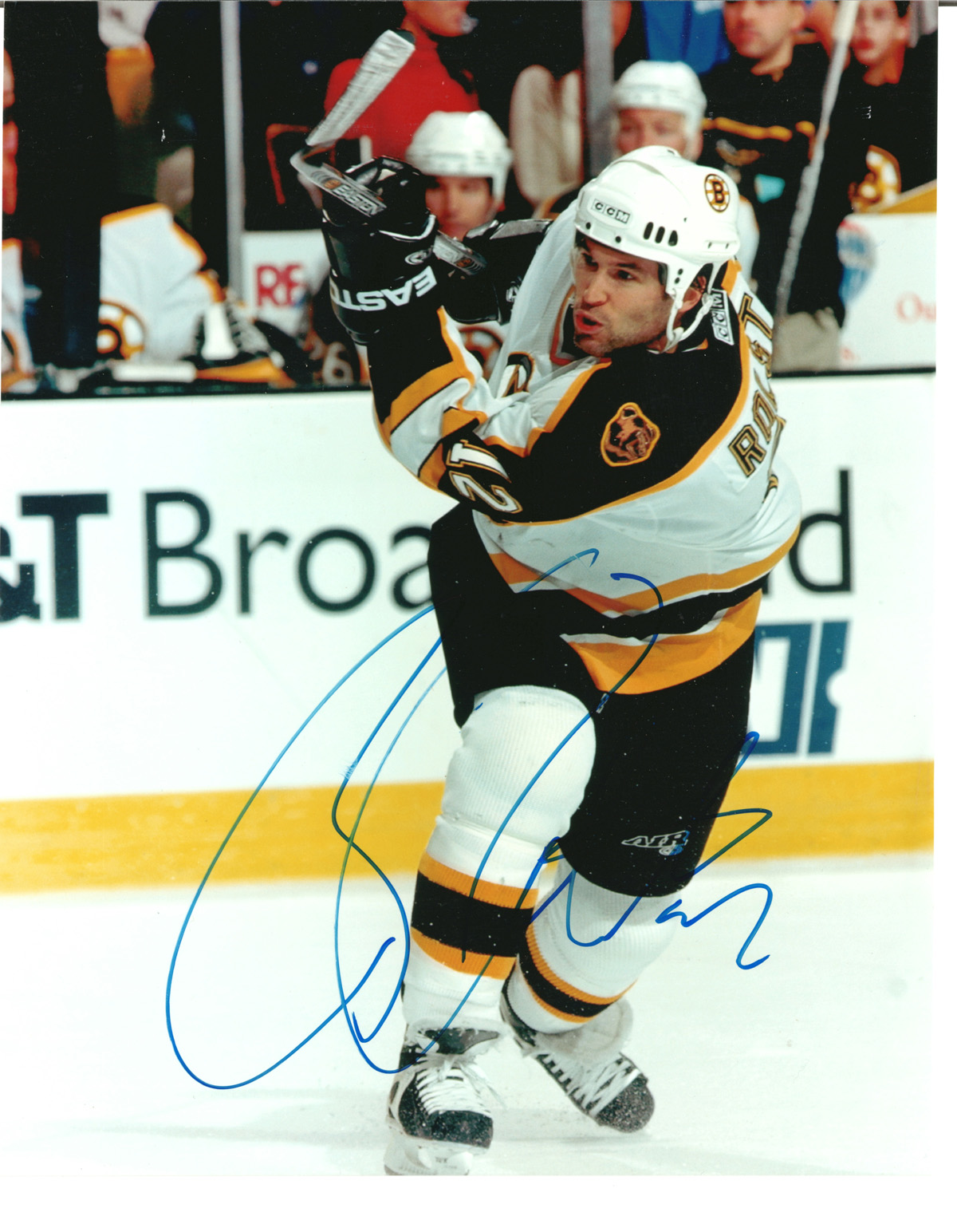 Brian Rolston autographed 8x10