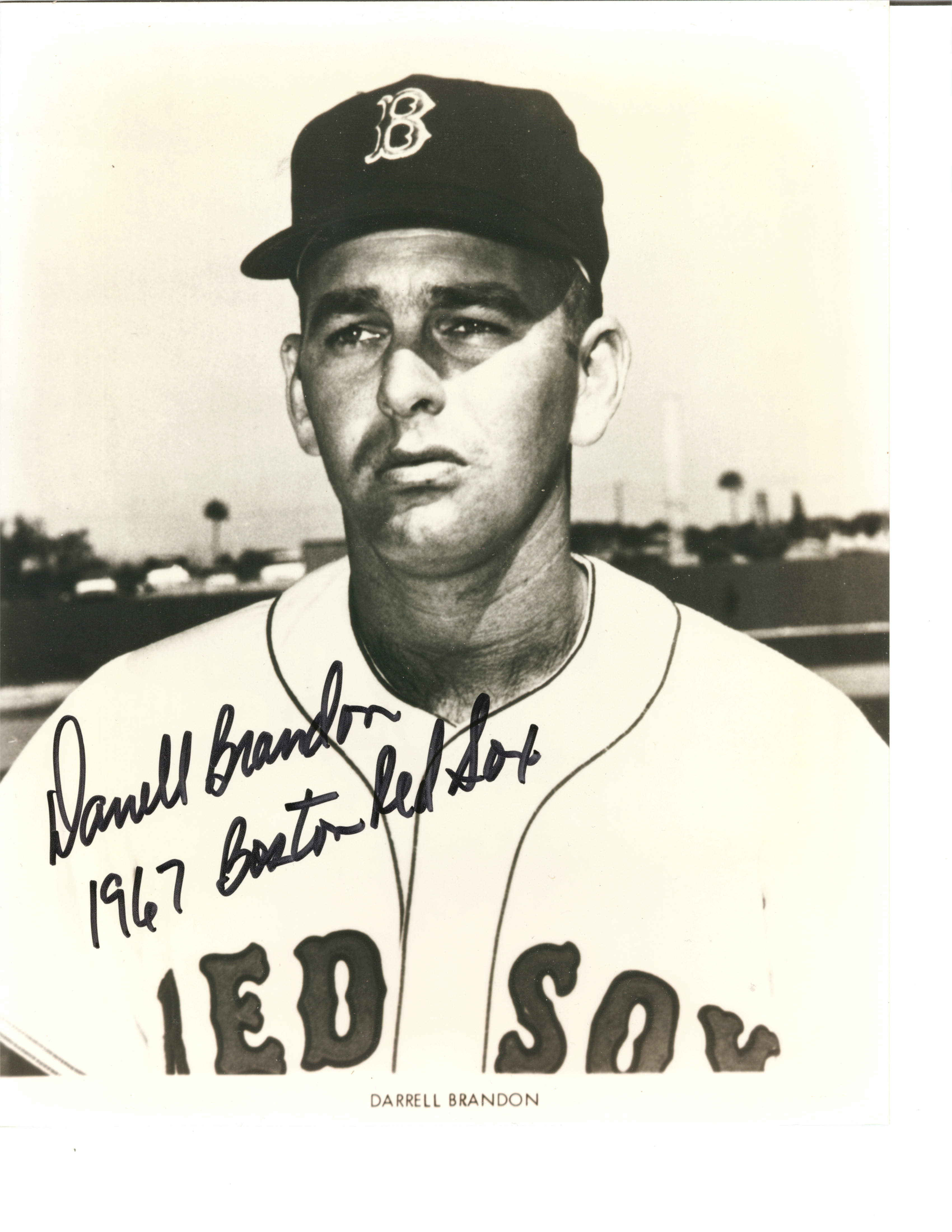 darrell brandon red Sox