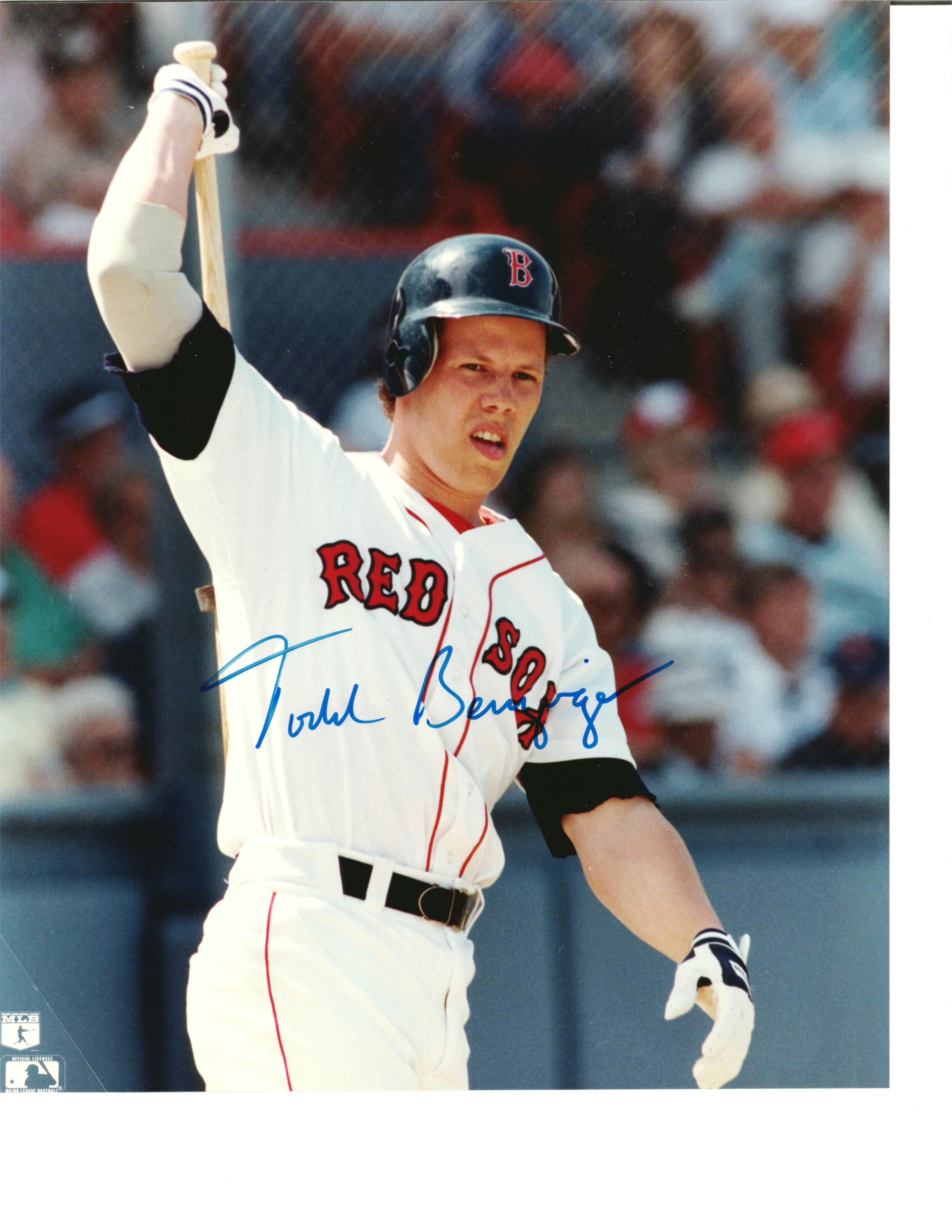 Todd benzinger boston red sox